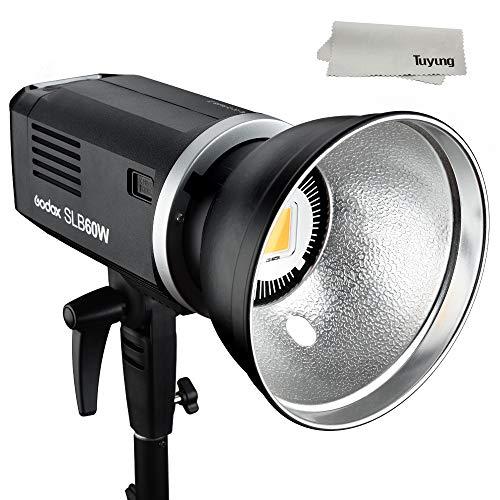 Godox SLB60W 60Ws 5600K ± 200K White Lithium Battery 11.1V 8700mAH Version LED Video Light Studio ContinuousLamp for Camera DV Camcorder by Godox (Image #6)