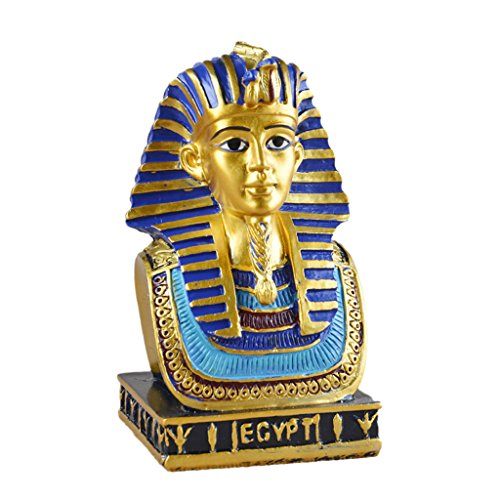 MonkeyJack Ancient Egyptian King Tut Resin Figurine Statue Home Art Decor Hand Carving Sculpture Craftworks