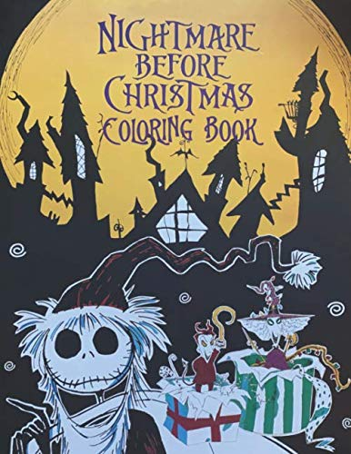 Halloween Coloring Sheets With Addition (The Nightmare Before Christmas Coloring Book: A Mini World Of The Film. This Coloring Book Is A Great Addition To Your Collectibles As A N.B.C Huge ... illustrations. A Mini)