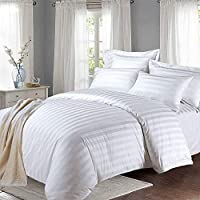 MOONLIGHT20015 Duvet Cover Set Double Bedding 300 thread count with 2 pillowcases soft Hotel quality double bedding duvet...