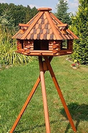 Deko Shop Hannusch Xxl Luxus Vogelhaus Mit Solarbeleuchtung