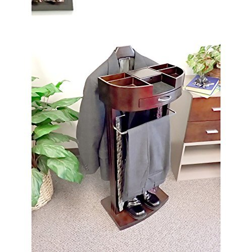 Wood Valet Stand (Proman Products VL16546 Wardrobe Valet)