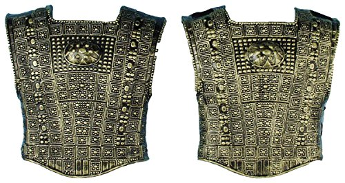 Gold Roman Chest Plate - Morris Costumes Men's ROMAN CHEST PLATE 2 PC SET, One size