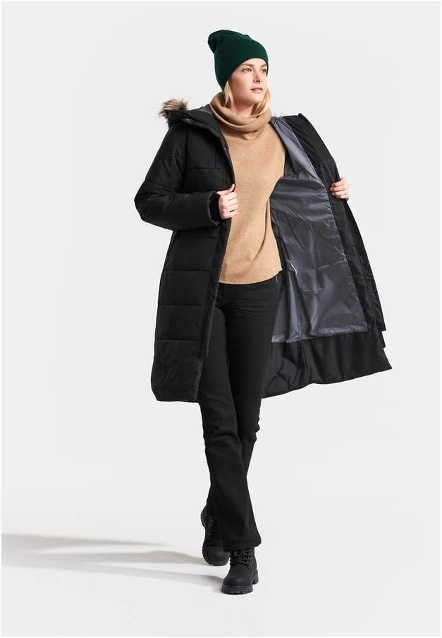 Warmer Steppmantel Didriksons Valentina Parka Women Winddichter