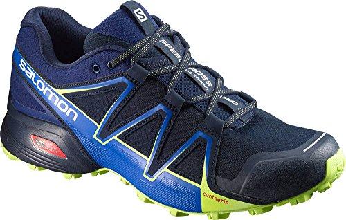 Salomon Speedcross Vario 2, Zapatillas de Running para Asfalto para Hombre Multicolor (Navy Blaze/nautical B)