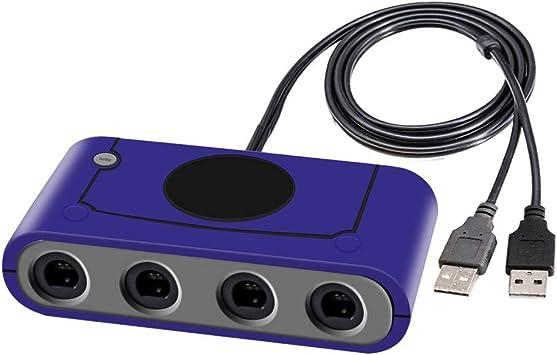 Joytorn Gamecube - Adaptador de Mando para Super Smash Bros Switch, Gamecube Controller Compatible con Wii U Switch y PC,4 Puertos: Amazon.es: Electrónica