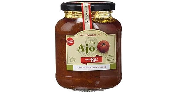 Estilo Kikí Tomate Frito con Ajo Gourmet - Paquete de 4 x 350 gr ...