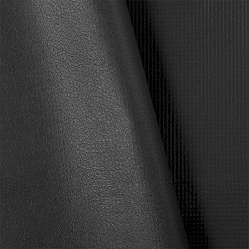Brun-Tuff Value Black 14 Oz FR Vinyl Fabric - by the Yard