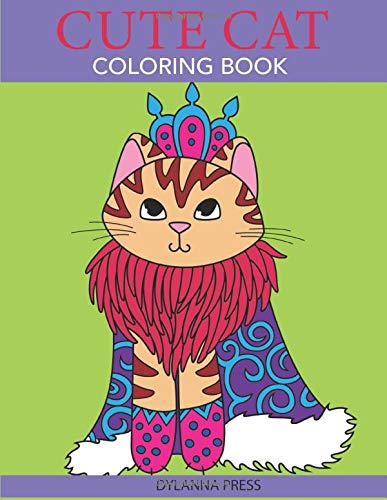 Cute Cat Coloring Book Lovers product image