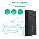 Car Jump Starter RAVPower 10000mAh 400A Peak Current with Intelligent Protection Device for up to 3L Gasoline Engines, Booster Battery Charger with Micro-USB Input 2.4A Max iSmart 2.0 Output