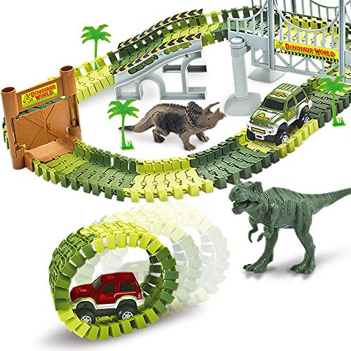 bc2a08255c7f9 3 DAYS ONLY! Amazon with Coupon Code and FREE Shipping on Dinosaur Race  Track!
