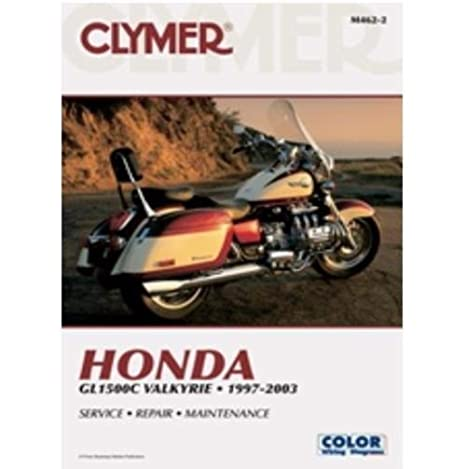 amazon com 97 00 honda gl1500c clymer service manual automotive rh amazon com honda valkyrie workshop manual honda valkyrie workshop manual