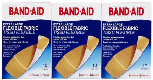Band Aid Flexible Fabric Adhesive Bandages product image