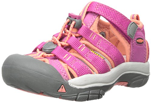 KEEN Toddler (1-4 Years) Newport H2 Very Berry/Fusion Coral Sandal - 8 M US Toddler ()