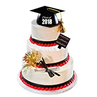 Class of 2018 Graduated Illuminated Enlightened Mega Cake Decoration Cake Topper Deluxe Kit