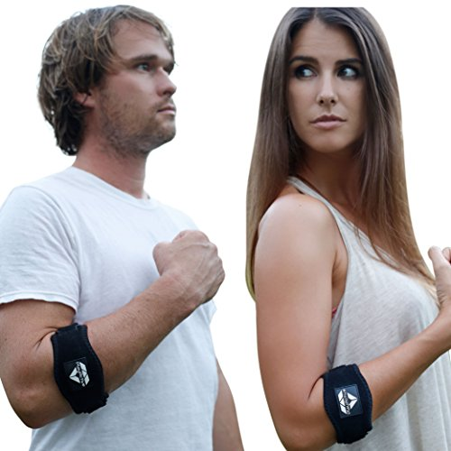2-Pack Tennis Elbow Brace with Compression Pad