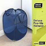 Smart Design Deluxe Mesh Pop Up Square Laundry