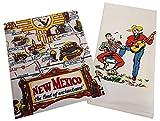 New Mexico & Singing Cowboys Dish Towel Set