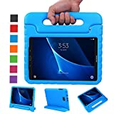 BELLESTYLE Samsung Galaxy Tab A 10.1 Case - Shockproof Light Weight Protection Handle Stand Kids Case for Samsung Galaxy Tab A 10.1 Inch (SM-T580 / SM-T585) Tablet 2016 Release (Blue)