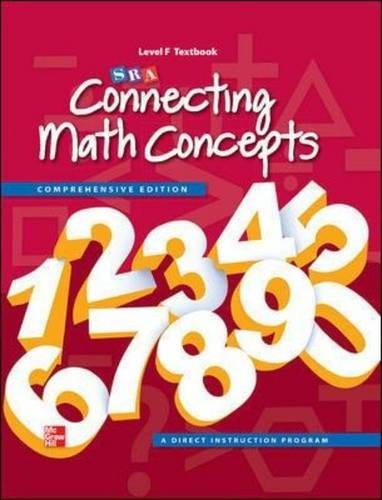 Connecting Math Concepts Level F, Student Textbook -  McGraw-Hill Education, Hardcover