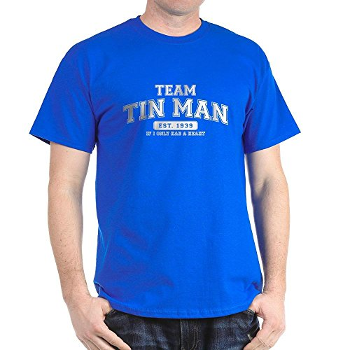 CafePress - Team Tin Man- If I Only Had A Heart - 100% Cotton T-Shirt