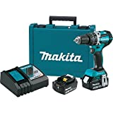 Makita XPH12M 18V LXT Lithium-Ion Brushless Cordless 1/2'' Hammer Driver-Drill Kit (4.0Ah), (Discontinued by Manufacturer)