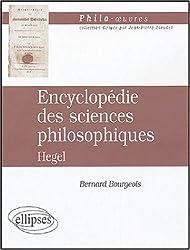 Encyclopédie des sciences philosophiques : Hegel