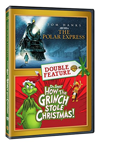 The Polar Express / How the Grinch Stole Christmas (DVD) (Double Feature) (Polar Express Christmas Spirit)