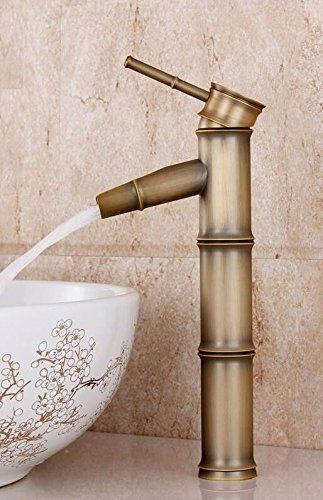 J Gyps Faucet Basin Mixer Tap Waterfall Faucet Antique Bathroom Mixer Bar Mixer Shower Set Tap antique bathroom faucet All copper antique faucet hot and cold retro glass basin single cold basin art basi