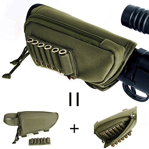 Tactical Buttstock Zippered Utility Carrier