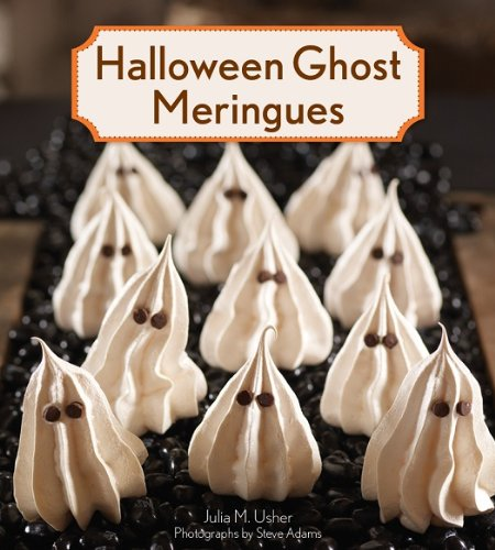 Halloween Ghost Meringues -