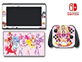 Kirakira PreCure a la Mode PreAla Anime Manga Video Game Vinyl Decal Skin Sticker Cover for Nintendo Switch Console System