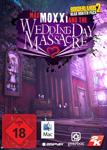 Borderlands 2 - Headhunter Pack: Mad Moxxi and the Wedding Day Massacre [Mac Steam Code]