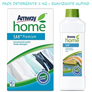AMWAY HOME Pack Detergente biodegradable y suavizante Alpino ...