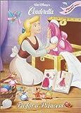 Fit for a Princess/Wedding Bells (Disney Princess) (Super Coloring Book)