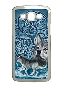 Celtic Wolf Custom Samsung Grand 7106/2 Case Cover Polycarbonate Transparent