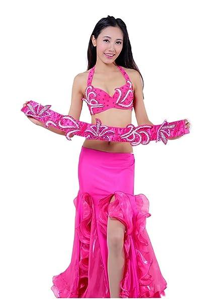 DESY Señoras Indio Danza Vientre Danza Trajes Nacional ...