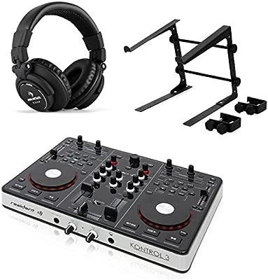 resident dj Kontrol 3 Set Controlador DJ USB MIDI tarjeta ...