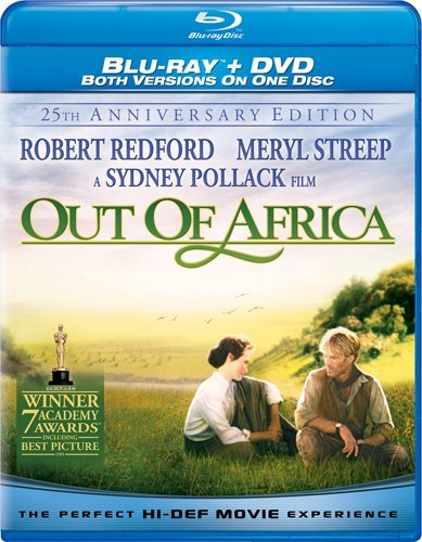 Out of Africa: 25th Anniversary (Blu-ray/DVD Combo)