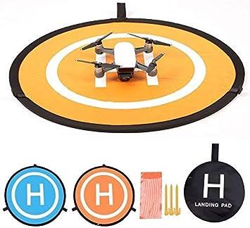 Opinión sobre KINGWON 55cm Plegable Drone Landing Pad Pista de Aterrizaje Portátil para dji Mavic Pro, dji Mavic Air, dji Spark, dji Tello