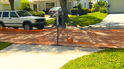 Play It Safe RPDN26 Driveway Net, Large, Orange