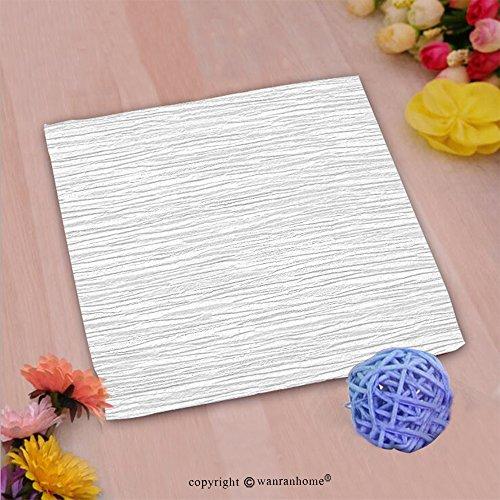 VROSELV Custom Cotton Microfiber Ultra Soft Hand Towel-white wall Custom pattern of household - Wall Batik Garden