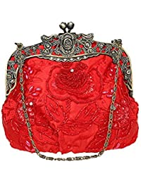 Amazon.com: Red - Evening Bags / Handbags & Wallets: Clothing ...