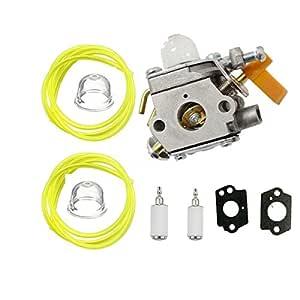 TucParts Carburador Carburador para Ryobi RBC30SET RLT30CET ...