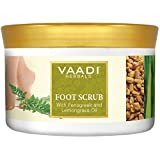 Foot Scrub - Foot Scrub exfoliator - Foot Scrub Cream - Natural, Anti-fungal Callus Remover and Therapeutic Exfoliator - Fast Absorbing - Makes Your Feet Super Soft - Vaadi Herbals (Pack of 1 X 500Gm)