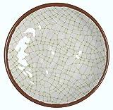 Melange 36-Piece 100% Melamine Salad Plate Set (Hammered Checks Collection )   Shatter-Proof and Chip-Resistant Melamine Salad Plates   Color: Lime
