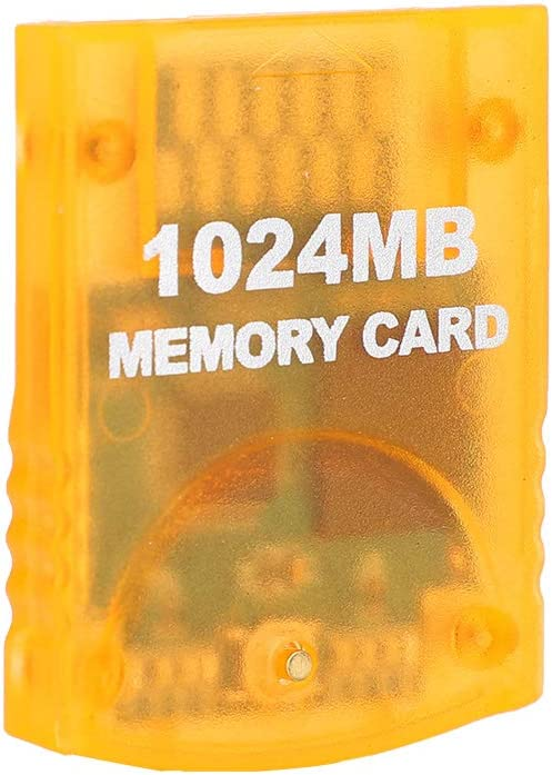 sjlerst Memory Card For WII,For WII Gamecube,1024MB Large Capacity,Game Console Memory Card Game Accessories,High-speed,efficient transmission performance