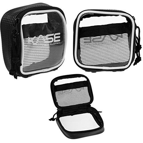 Gazechimp 3Stk Wasserdicht Mini Aufbewahrung Tasche (Durchsichtig) für Zubehör, Tasche