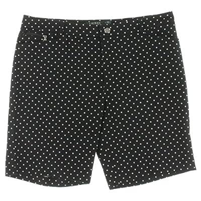 Lauren Ralph Lauren Womens Polka Dot Active Shorts