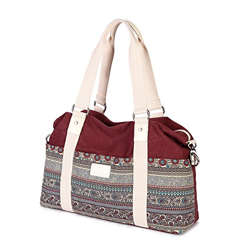 - Z•G Women Retro Multi-purpose Tote bag Stylish bag Shoulder bag Messenger Bag Diaper bag for 15.6-Inch Laptop